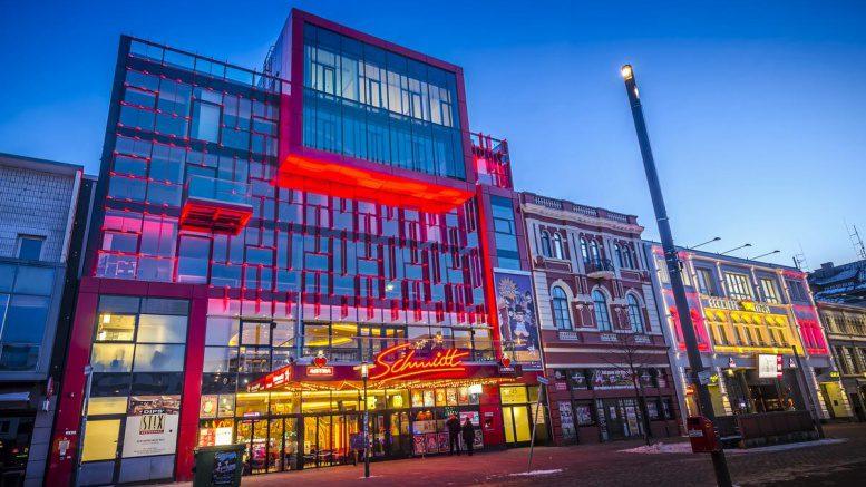 Das Schmidt Theater Straßenfront