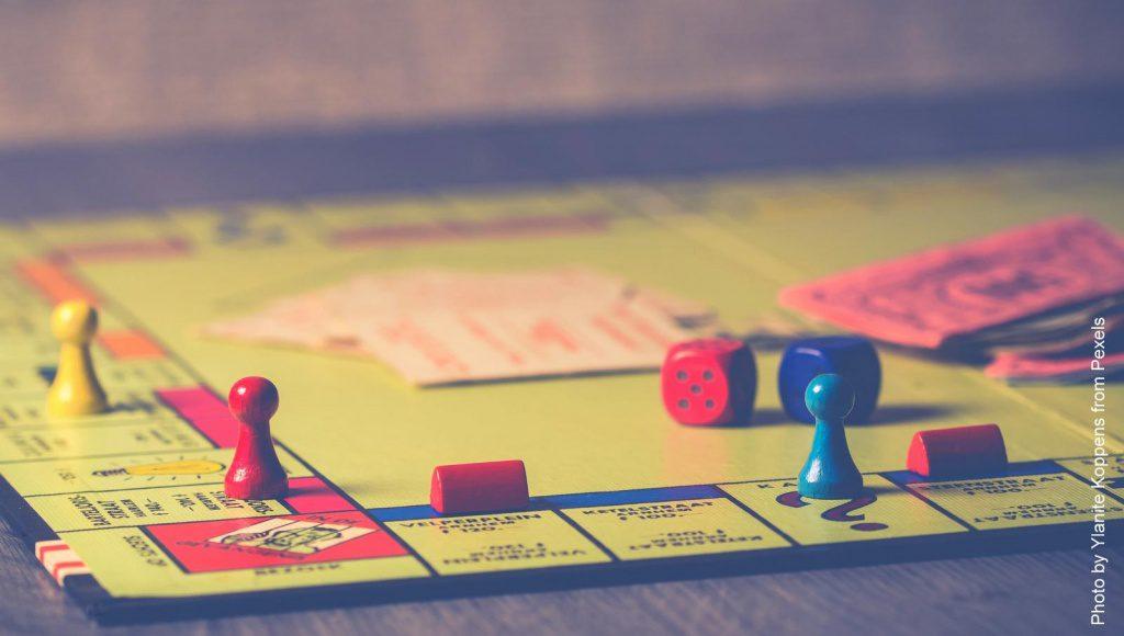 Monopolspielbrett