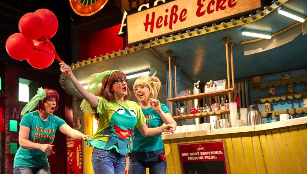 Szenenfoto aus der Heissen Ecke Musical