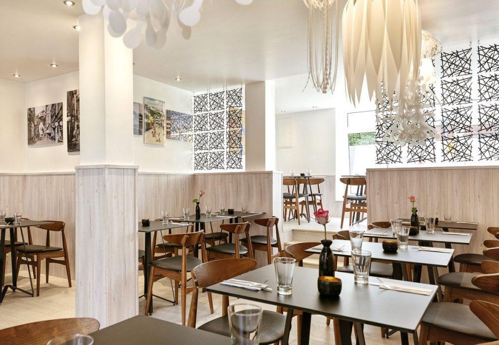 Der Gastraum des Restaurants Lung Wai