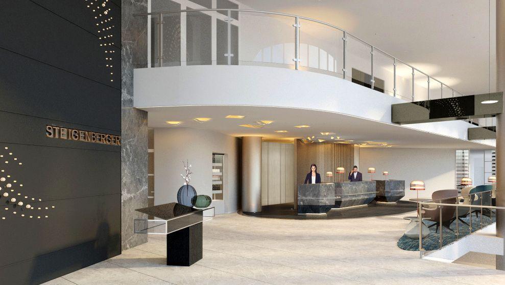 Rendering der Lobby