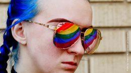 Regenbogen Sonnenbrille