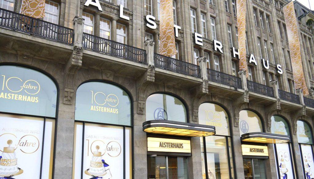 Fassade des Warenhauses Alsterhaus