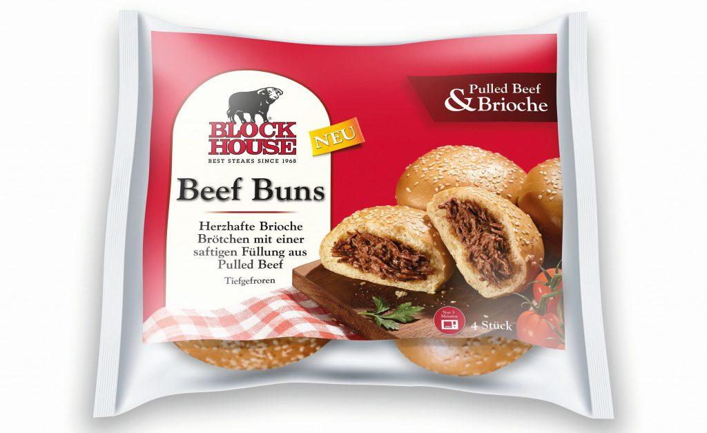 Tiefkühl Beef Buns von Block House