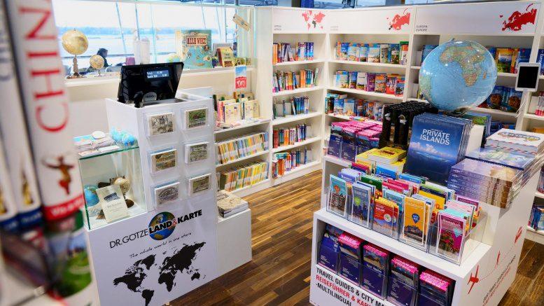 Pop up Store am Hamburger Flughafen
