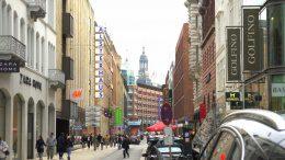 Shoppingstraße Große Bleichen