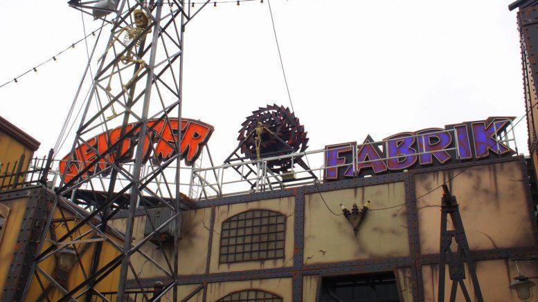Fassade der Hamburger Geisterfabrik