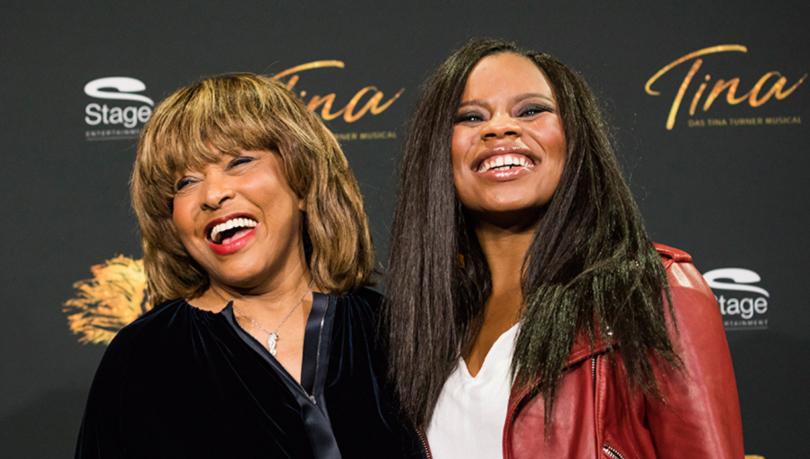 Tina Turner mit Kristan Love