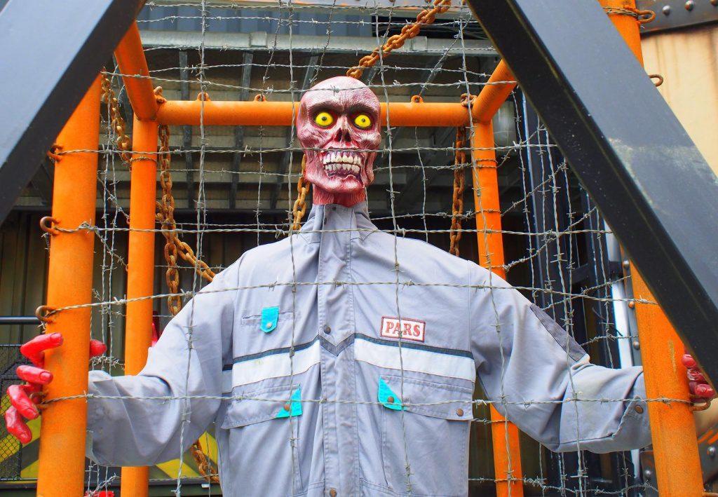 Zombie auf dem Hamburger Dom