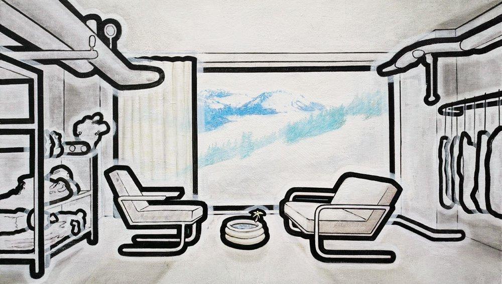Arbeiten vom Künstler Thosren Ruehle