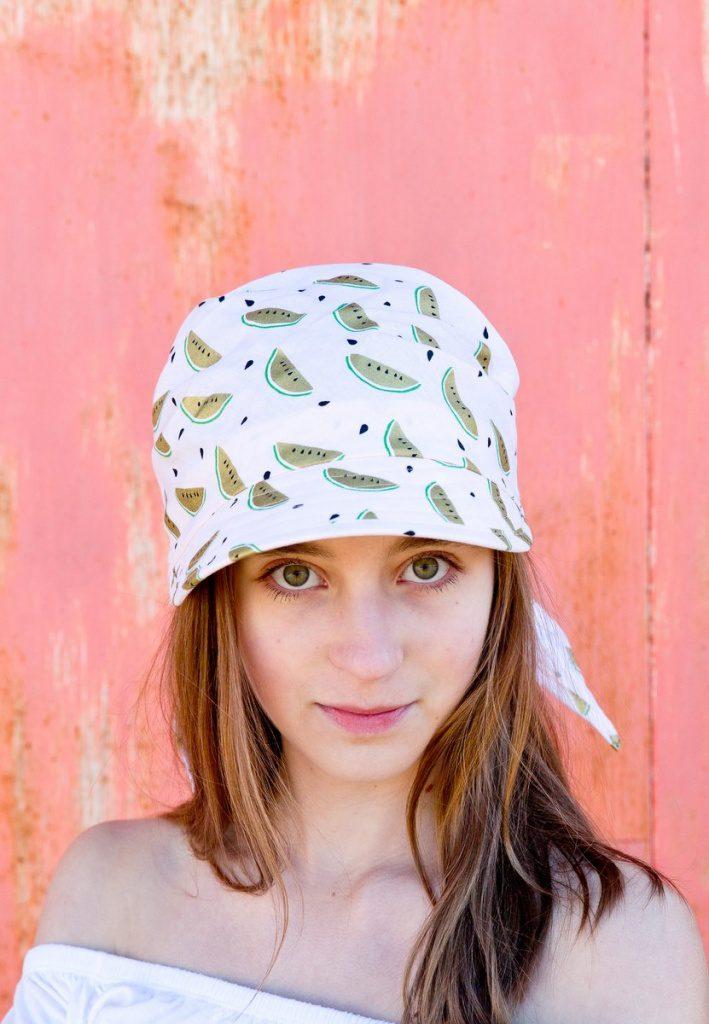 Kopfbedeckung von Silvia Bundschuh