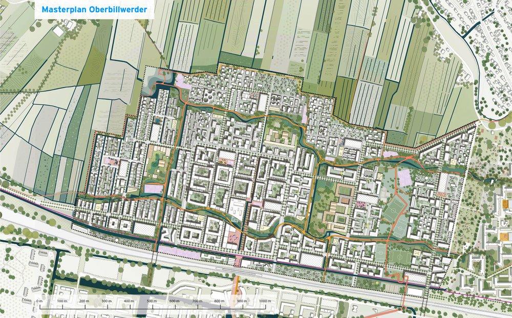 Visualisierung Oberbillwerder Hamburgs 105. Stadtteil