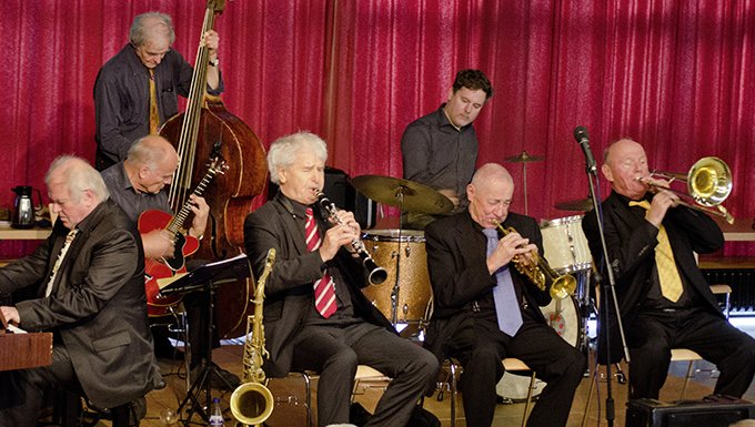 Eine bekannte Jazzkapelle aus Hamburg