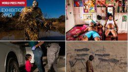 Eine Pressefoto Collage