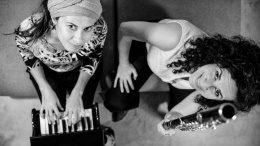 Zwei Jazz-Musikerinnen