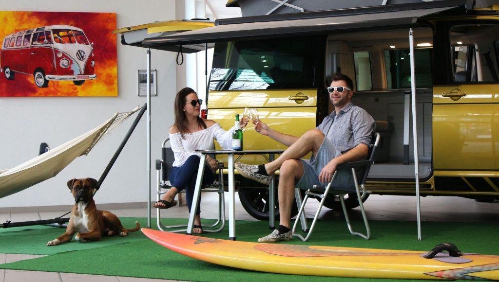 VW Camper California