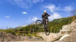 Mit E-Mountian Bike in den Bergen