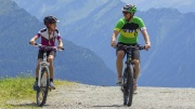 Moutainbiker in der Wildkogelarena