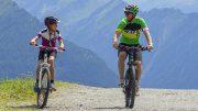 Moutainbiker in der Wildkogelarena