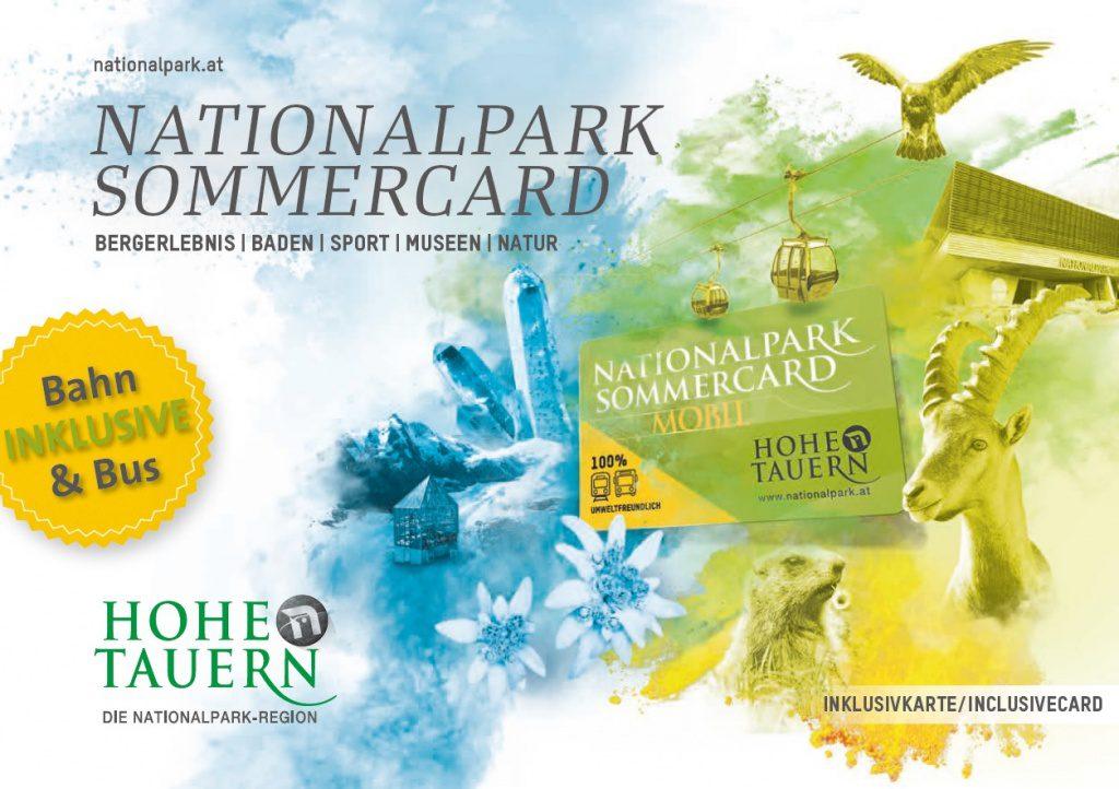 Die Wildkogel Nationalpark Sommercard