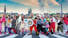 Hamburger Klinik Clowns auf der Strasse