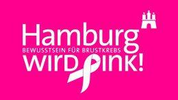 Logo Hamburg wird pink
