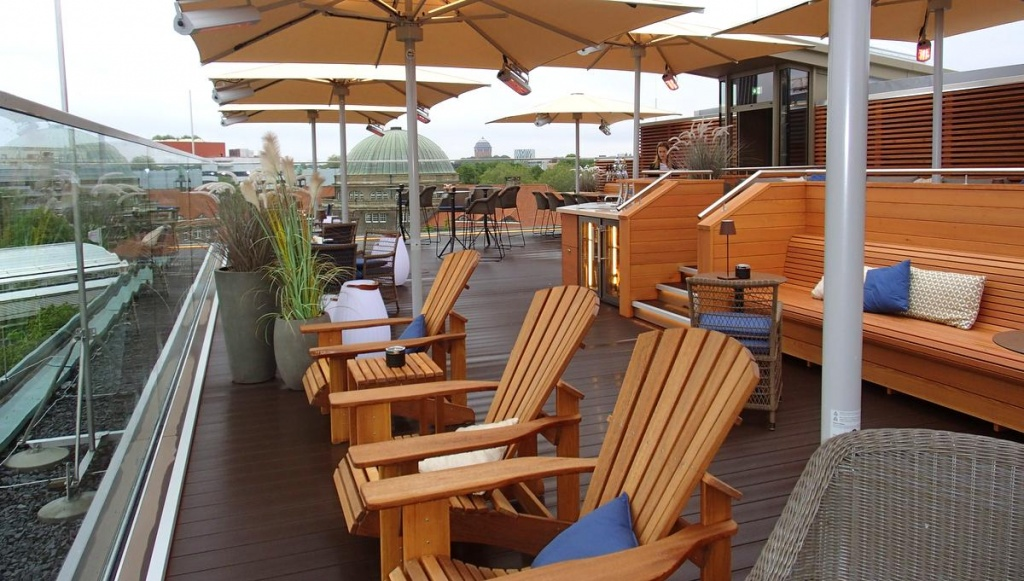 Rooftop-Bar Top Seven Ansicht