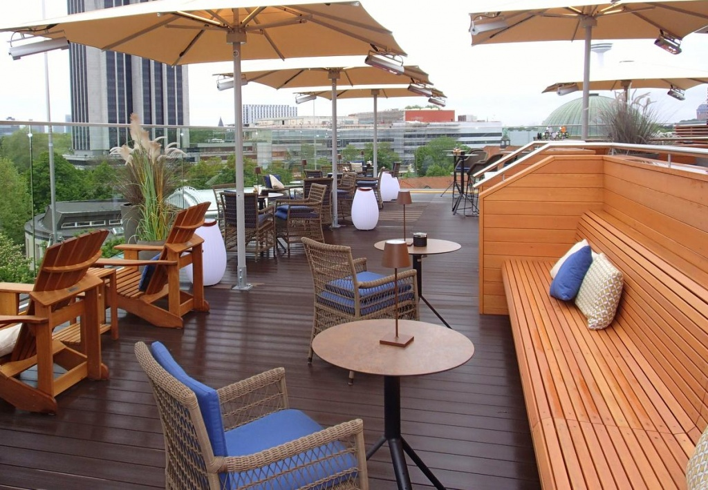 Rooftop-Bar Top Seven Ansicht