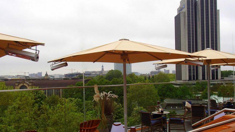 Rooftop-Bar Top Seven Aussicht