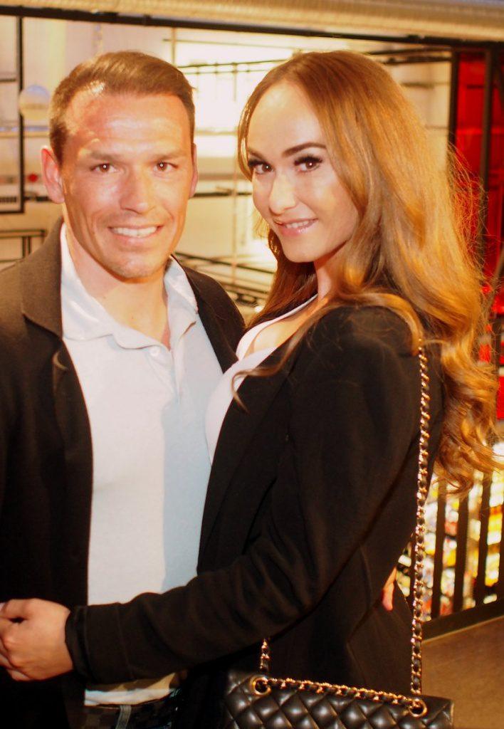 Piotr Trochowski mit Frau