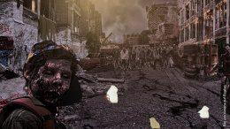 Hamburger Straße nach der Zombie-Katastrophe