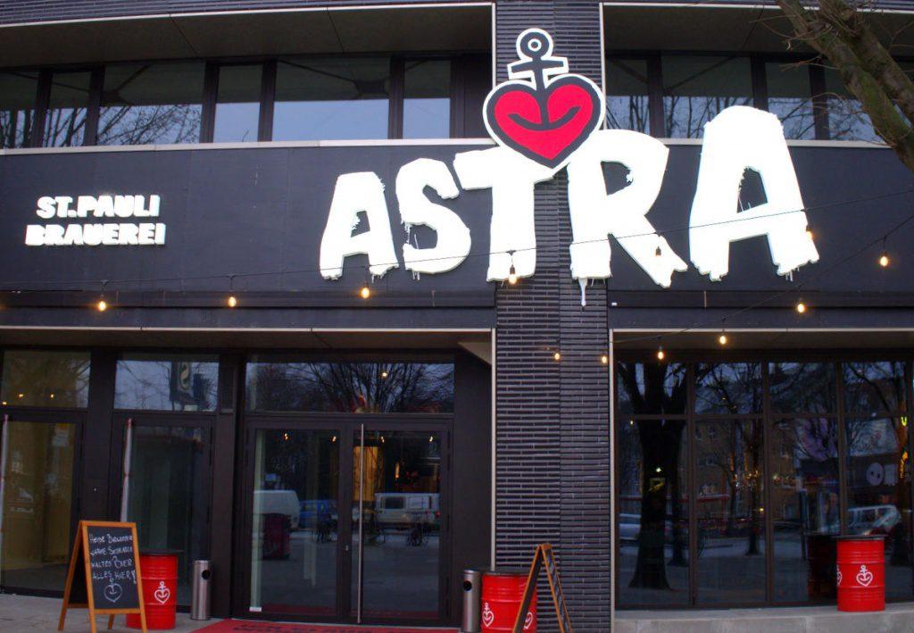 Aussenansicht Astra Brauhaus Hamburg