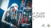 Silent Fun Kopfhörer Party Anzeige