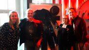 Gruppenbild im Hard Rock Cafe Hamburg