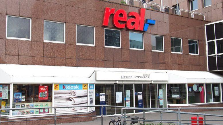 real Verbrauchermarkt Eingang Hamburg