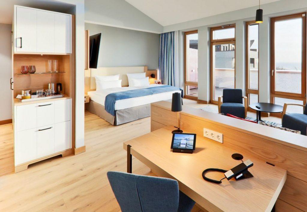 Föhr: Das Upstalsboom Hotel Föhr eine Junior Suite