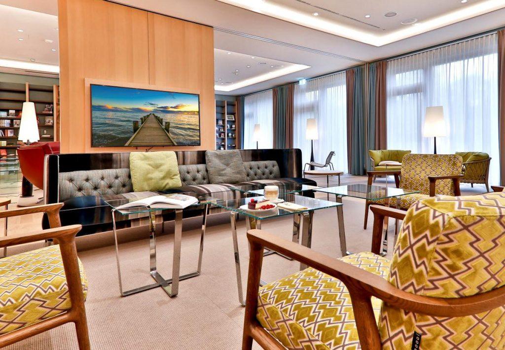 Föhr: Upstalsboom Hotel, Blick in den Konferernzraum
