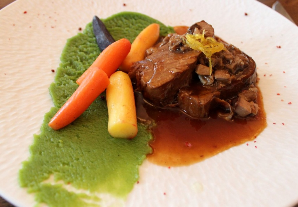 Föhr: Essen im Upstalaboom Hotel