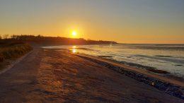 Morgenstimmer am Südstrand von Föhr