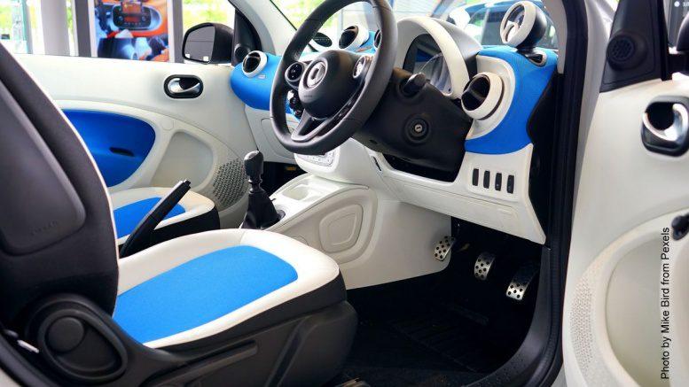 Cockpit eines Smart