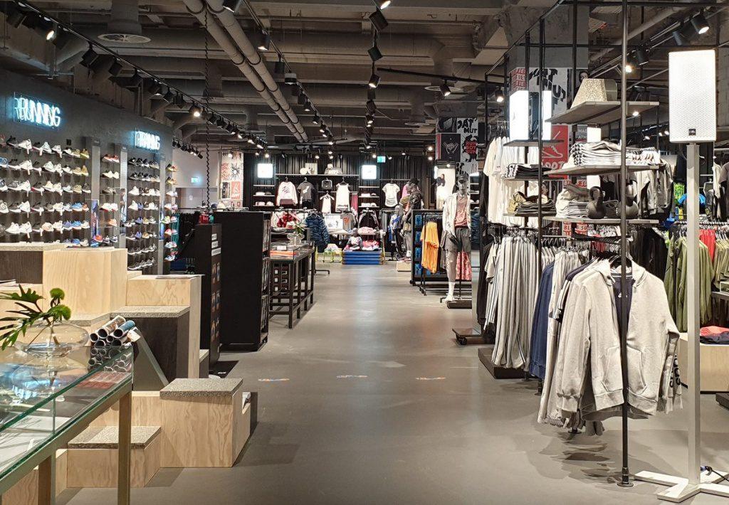 SportScheck Filiale Mönckebergstrasse Hamburg