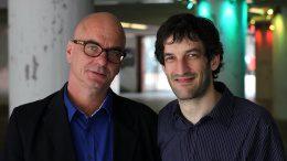 Franck-Thomas Link und Simon Strasser