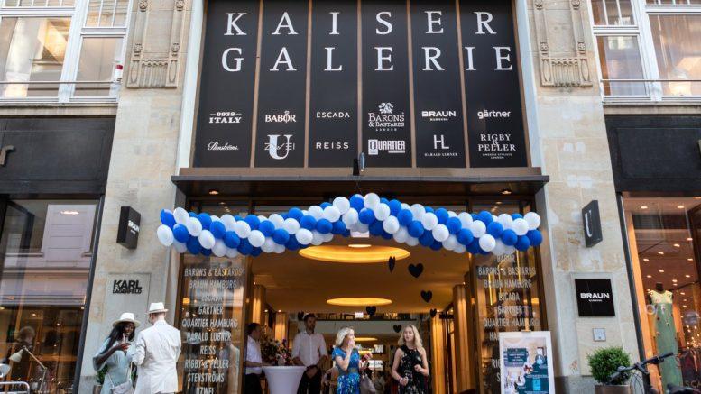 Der Eingang der Kaisergalerie Hamburg