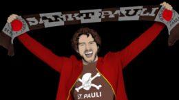 St. Pauli Fan in Congstar Optik