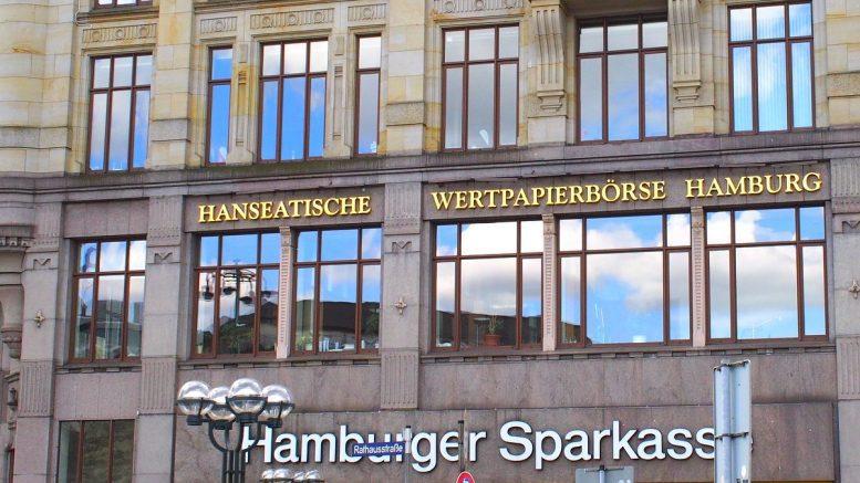 Börse Hamburg in der Rathausstraße