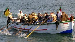 Börteboote in Helgoland