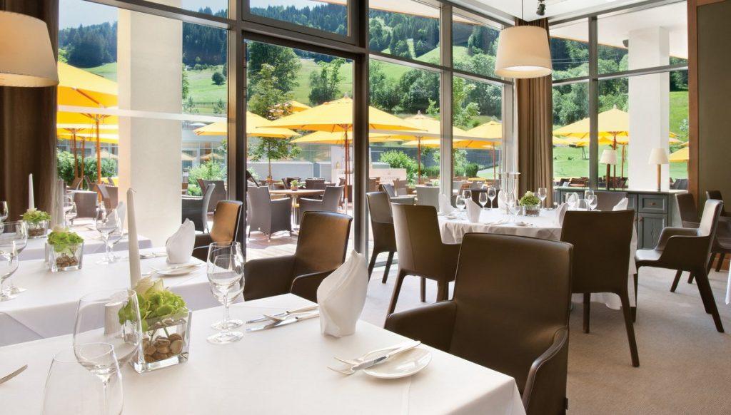 Das Steinberg Restaurant in Jochberg