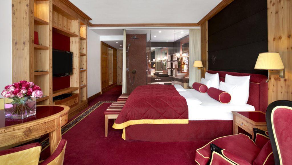 Raumansicht im Hotel das Tirol