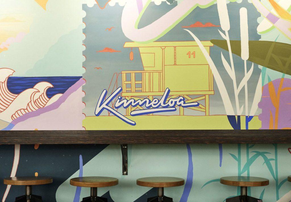Innenansicht KINNELOA California Street Kitchen in der Europa Passage