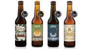 Vier prämierte Biere der Ratsherrn Brauerei